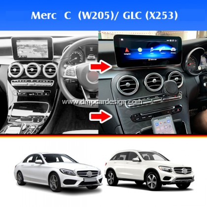 "Merc C / GLC - Class W205 10.25"" Android Widescreen Touch Screen Tesla Size"