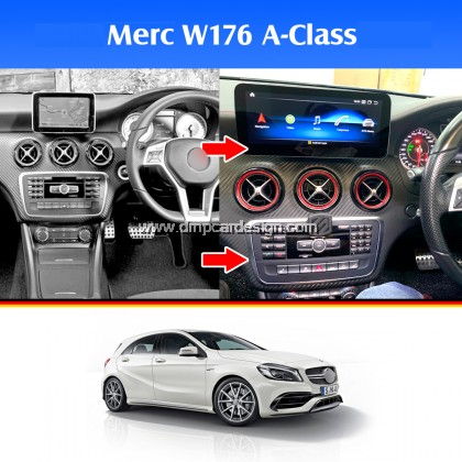 "Merc A-Class W176 10.25"" Android Widescreen Touch Screen Tesla Size"