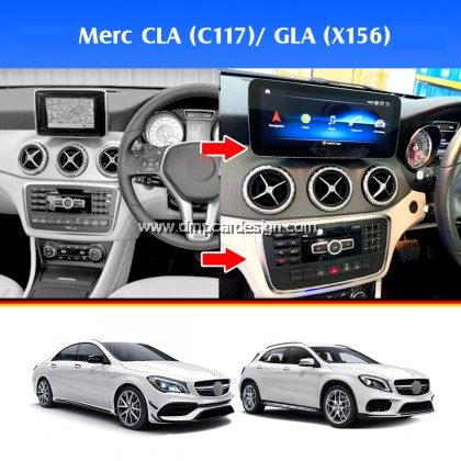 "Merc CLA / GLA -Class W176 10.25"" Android Widescreen Touch Screen Tesla Size"