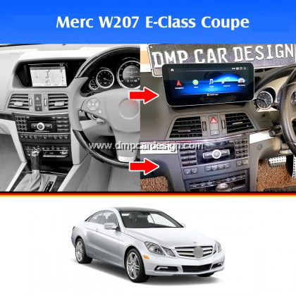 "Merc E-Class Coupe / Convertible W207 C207 A207 10.25"" Android Widescreen Touch Screen Tesla Size"