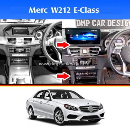 "Merc E-Class W212 Facelife Pre-facelift 10.25"" Android Widescreen Touch Screen Tesla Size"