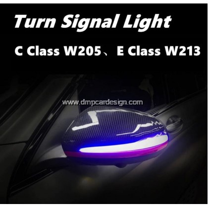 Merc w205 w213 w253 w222 side rearview Mirror sequential Dynamic blinker flow LED Turn indicator Light