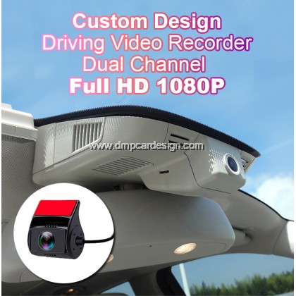Car DVR Driving Video Recorder Dashcam Camera Dual Channel 1080P Full HD