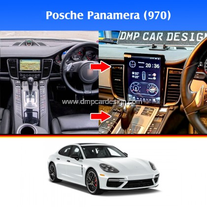 """Posche Panamera 10.4"""" Android Widescreen Touch Screen Tesla Size"""