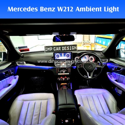 Mercedes Benz W212 64 colour Ambient Light Kit Car LED Styling interior decorative Atmosphere