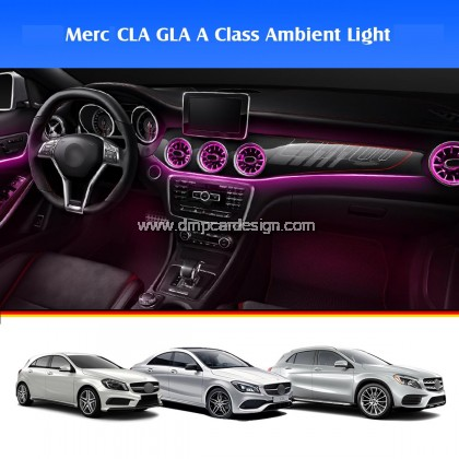 Merc A Class CLA GLA W176 X156 W117  Interior Ambient Light Front LED Console Turbine Style Airvent