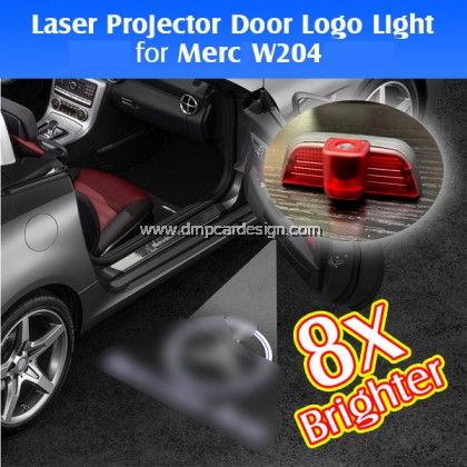 Merc Car Door Welcome 3D Logo Light  W204 Auto LED Laser Projector  Lamp