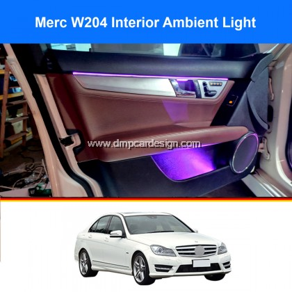 Merc W204 C Class OEM Looking Interior Ambient Light c200 c250 c180 c63