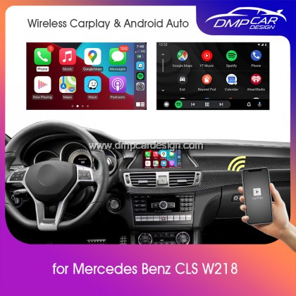 Wireless Apple Carplay For Mercedes Benz CLS Class W218 NTG 4.0 4.5 4.7 5.0 5.1 Android Auto Mirror iOS Mirroring Wifi