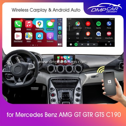 Wireless Apple Carplay For Mercedes Benz AMG GT Class NTG 5.0 5.1 Android Auto Mirror iOS Mirroring Wifi