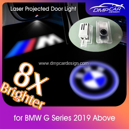 BMW Car Door Welcome 3D Logo Light G Series 1 3 5 7 Series Auto LED Laser Projector  Lamp