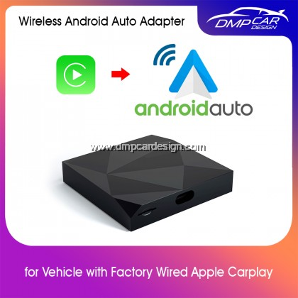 Wireless Android Auto adapter for OEM car stereo USB plug and play Android Auto wireless auto module